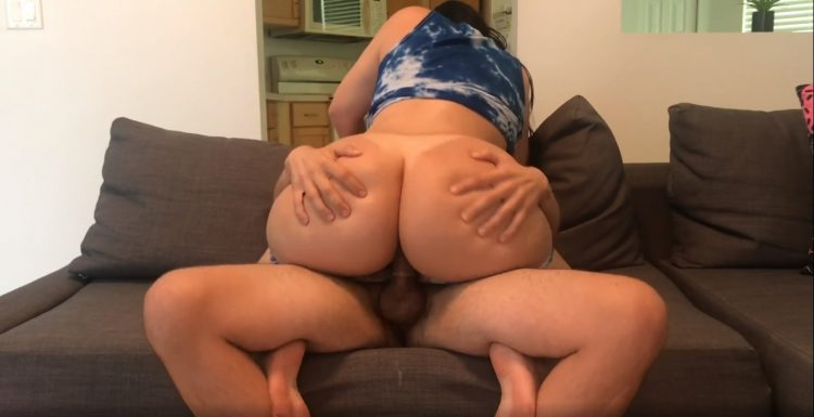 Girl with a Big Ass her Brother then gets Fucked